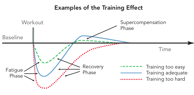 Näide korraliku treeningu tõhususest
